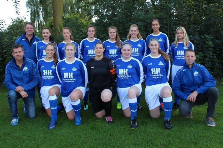 De tegenstander van de Zuiderburen dames: ST HMVV/Hulsel MO19-1